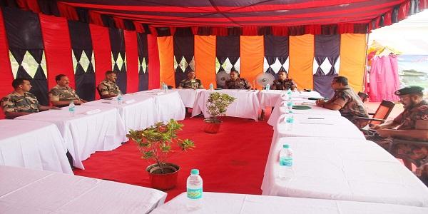চুয়াডাঙ্গায় বিজিবি-বিএসএফ পতাকা বৈঠক