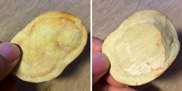 Chips-made-by-wood