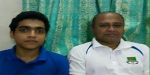 Rohan with father