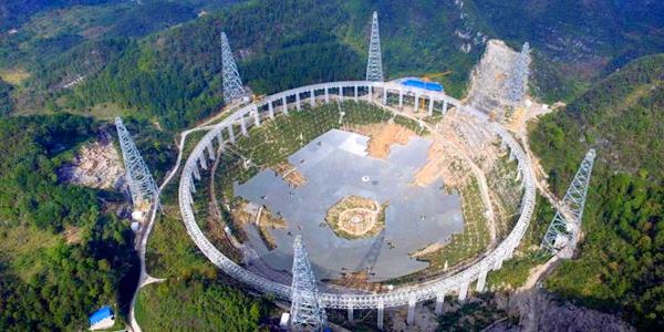 চীনে ৩০টি ফুটবল মাঠের সমান টেলিস্কোপ