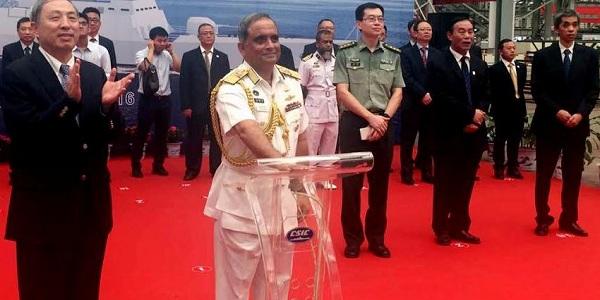 চীনে বাংলাদেশ নৌবাহিনীর যুদ্ধজাহাজ নির্মাণের উদ্বোধন