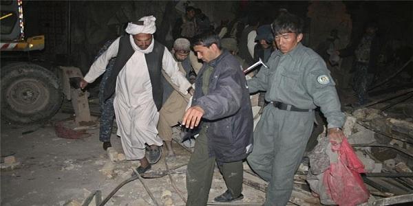 মার্কিন বিমান হামলায় ৮ আফগান পুলিশ নিহত