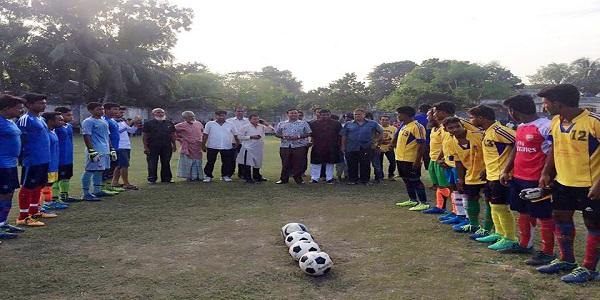 শিবালয়ে ফুটবল টুর্নামেন্ট শুরু