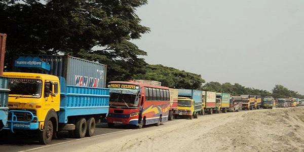 ঢাকা-আরিচা মহাসড়কে তীব্র যানজট