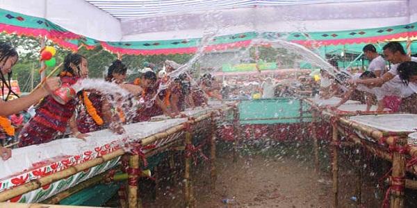 সাংগ্রাই উৎসবে সাঙ্গ হলো পাহাড়ের বর্ষবরণ