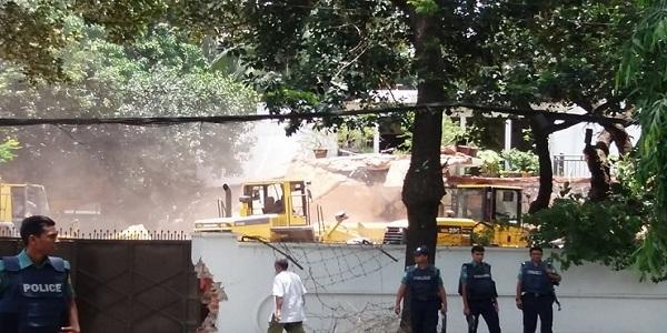 আইন মেনেই বাড়িটি ভাঙা হয়েছে: রাজউক