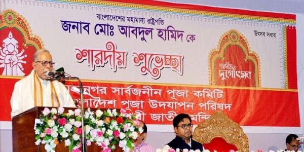 রোহিঙ্গাদের ফেরাতে মিয়ানমারকে বাধ্য করতে হবে: রাষ্ট্রপতি