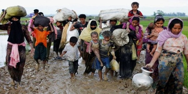 রোহিঙ্গাবিরোধী অভিযান বন্ধে ৪ মুসলিম দেশের আহ্বান
