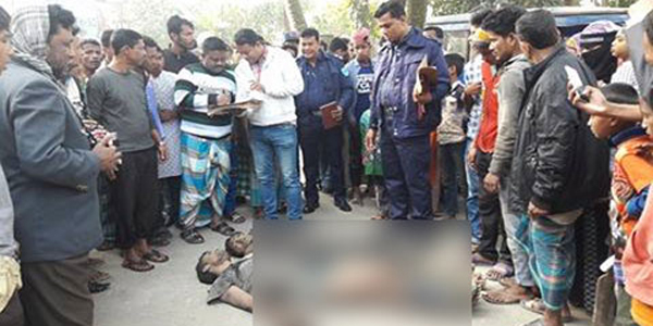 নারায়ণগঞ্জে গণপিটুনিতে নিহত দুই ডাকাত