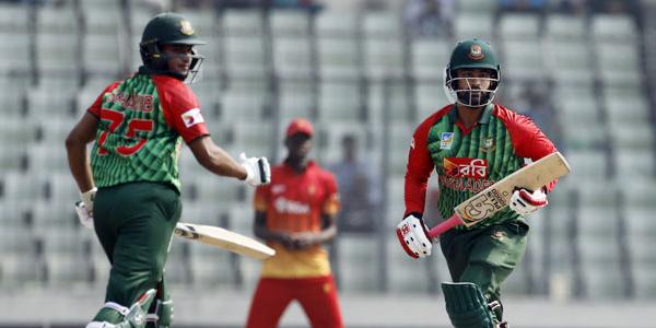 জিম্বাবুয়েকে ২১৭ রানের টার্গেট দিল বাংলাদেশ