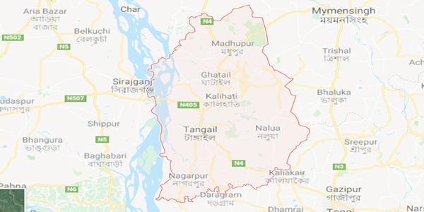 টাঙ্গাইলে বাসচাপায় তিন মোটরসাইকেল আরোহীর মৃত্যু