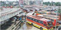 ঢাকা-চট্টগ্রামসহ ৮৭ রুটে পরিবহন ধর্মঘটের ডাক