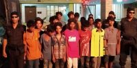 মিরপুরে কিশোর গ্যাং এর ২৪ সদস্য আটক