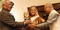 'ঠাকুর শান্তি পুরস্কার' পেলেন শেখ হাসিনা