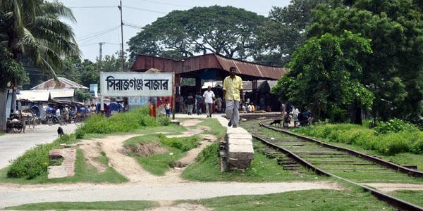 বেহাল সিরাজগঞ্জের রেলসেবা, বন্ধ হলো লোকাল ট্রেনও