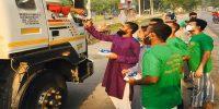 ফরিদপুরের ১ হাজার চালককে ইফতার বিতরণ করলো শিবা ফাউন্ডেশন