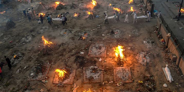 ভারতে টানা ৬ দিন তিন লক্ষাধিক করোনা রোগী শনাক্ত